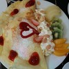 Exotic Fruit Crepes