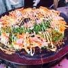 ในรูปคือเครปชาโคล ใส่ไข่ ซอสพิซซ่า แฮมแผ่น ไส้กรอก ยำสาหร่ายญี่ปุ่นค่ะ