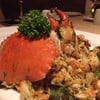 mud crab spaghetti