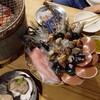 ซีฟู้ตปิ้งย่างกับหอยนางรม