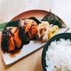 Main :: Salmon Teri เสิร์ฟพร้อมข้าว และซุปมิโซะ (ซุปเลือกจากเซ็ตข้อ 2)