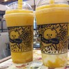 mango pudding & mango yogurt