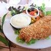 สลัดปลาทอด สำหรับ คนชอบกินผัก