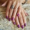 Infill Acrylic Natural Shape by jongkolnee  #nailsalon #nails  #jongkolneenailst