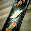 ซูชิแบบเผาไฟ 3 คำ เมนูแนะนำทางร้าน - เนื้อวากิว เอ็นกาวะ ฟัวกราส์