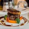 Black Angus Tenderloin Rossini served Sweet Potato and Foie Gras Madeira Sauce
