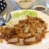 ข้าวหมูทอด+สามชั้น 35฿ อร่อยสุดๆ ได้แป้งกรอบๆมาทานคู่กัน