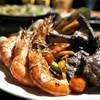 อาหารปิ้งย่าง ซุ้มอาหารปิ้งย่างที่นี่มีซี่โครงแกะ,กุ้ง,ปลากระพง,ปลาเก๋า และปลาหม