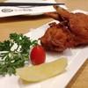 Teba Gyoza. (ปีกไก่ทอดสอดไส้เกี๊ยวซ่า) (120++ บาท)