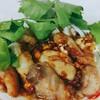 เนื้อปลาเก๋าผัดกระเทียมพริกไทย