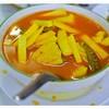 แกงส้มยอดมะพร้าวอ่อน 100 B