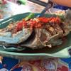 ปลากระพงราดพริก