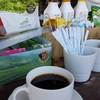 กาแฟสดแบบDrip มีเมล็ดกาแฟให้เลือก 3แบบ เมล็ดกาแฟผาฮี้ กาแฟผาหมี และอีกที่ไม่รู้ค