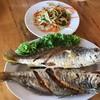 ปลาจวดเทียนทอดน้ำปลา
