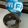 รหัส Wifi อยู่ในนี้