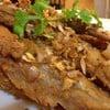 ปลาเนื้ออ่ออนทอดกระเทียม