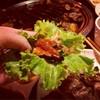 บุฟเฟ่ต์หมูเนื้อย่างเกาหลี