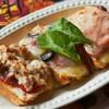 ขนมปังหน้าปลาซาลม่อน,ทูน่า,แองโชวี่