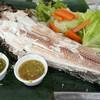 ปลาเผาตลาดน้ำตลิ่งชัน