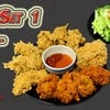 Bigset1 อร่อยสุดคุ้ม  ยำไก่แซ่บ+ไก่ทอด11ชิ้น ราคาเพียง 199 บาท
