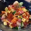 ดีงามด้วย salmon, หอยปีกนก, tuna, ไข่หวาน, ฮามาจิ, ไข่ปลาikura, ไข่กุ้ง