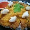 ข้าวไข่เจียวปู ซอสพริกรสเด็ด