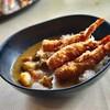 ข้าวแกงกะหรี่ญี่ปุ่น เพิ่มกุ้งทอด