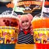 เครื่องดื่มเย็นๆ มีให้เลือกหลายรสตามชอบ Straw Hat Punch น้ำพั้นช์รสชาติเปรี้ยวหว