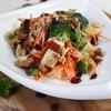 Broccoli apple walnut salad