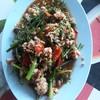 หมูผัดพริกผักชีลาว