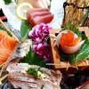 เนื้อปลาสดหวาน หันมาด้วยความหนากำลังดี ทานกับซอสโชยุและวาซาบิ