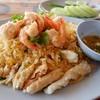 ข้าวผัดทะเล (จานกลาง) สีจืดๆ แต่อร่อยมากกกกก ใส่เครื่องทะเลเยอะมาก 150 บาท