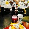 หมีน้อยกินโดนัท @ Starbucks Sport City