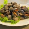 หอยแครงลวก พร้อมน้ำจิ้มซีฟู้ด