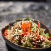 Mini Shirauo Salad