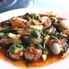 หอยเชลล์ผัดน้ำพริกเผา