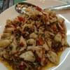 เนื้อปูก้อนผัดพริกขี้หนูสวน