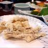 หัวปลาหมึกมาจากชุดซาซิมิปลาหมึกค่ะ