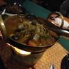 แกงเห็ดถอบที่ข้นด้วยปลาแห้งและเครื่องแกง