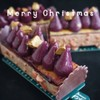 Buche blueberry and marron