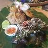 ข้าวผัดน้ำพริกปลาสลิดทอด