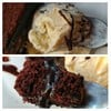 เนื้อเค้กนุ่มหอมช๊อคดี หวานน้อย มีไอศกรีมมาตัดรสขมจากช็อคได้ลงตัวมากๆ