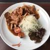 อันนี้หมูคโรบุตะ ย่าง เนื้อหมูนุ่มๆ กับซอส ฟินว๊าก!