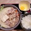 ชุดทงคตสึ นาเบะ ที่ ร้านอาหาร Yoshinoya เซ็นทรัลเวิลด์