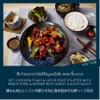 เซ็ท ไก่และรากบัวยัดไส้หมูและกุ้งสับ ซอสเปรี้ยวหวาน