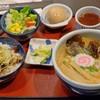 Ramen & Char Siu Rice Bowl Set [315++] - Miso Ramen
