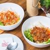 บุ๋นบ่อหมู (Curry pork with rice vermicelli&veggie)