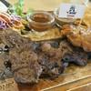 เนื้อหมูย่าง+ไก่ย่าง+เฟรนฟรายชีส