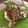 ครกไม้ไทยลาว ลาดปลาเค้า
