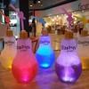 light bulb soda pretty